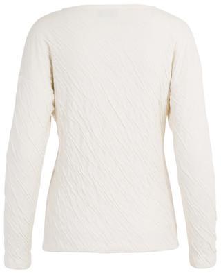 Langärmliges Top aus Baumwolle mit Knittereffekt MANSUR GAVRIEL