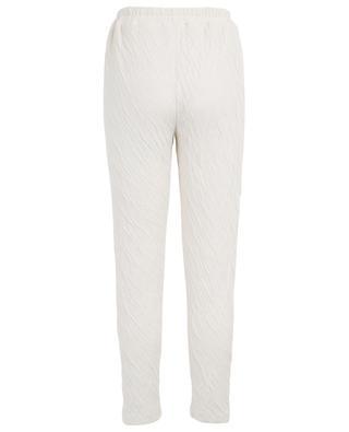 Pantalon de jogging en coton froissé MANSUR GAVRIEL