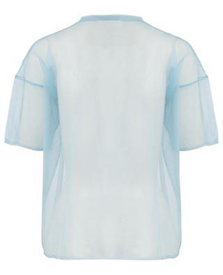 Transparenter Kurzarm-Pullover MANSUR GAVRIEL