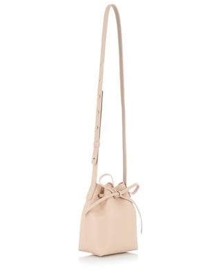 Calf Mini Bucket leather cross-body bag MANSUR GAVRIEL