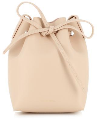 Calf Mini Bucket leather cross-body bag MANSUR GAVRIEL
