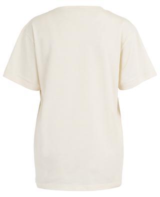 T-shirt en coton avec imprimé tigre et logo GUCCI
