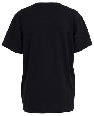 Cotton T-shirt adorned with multicoloured glitter GUCCI