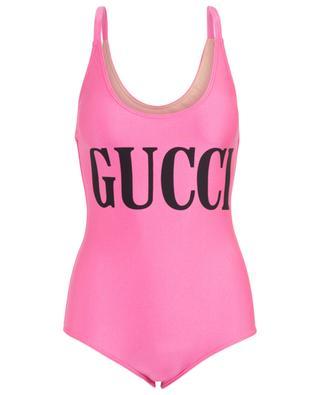 Maillot de bain motif logo Gucci GUCCI
