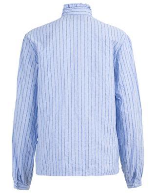 Cotton blouse with Gucci pinstripe GUCCI