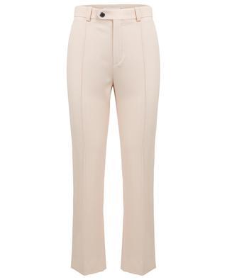 Virgin wool straight trousers CHLOE