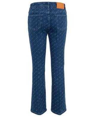 Ausgestellte Jeans mit Monogrammprint STELLA MCCARTNEY