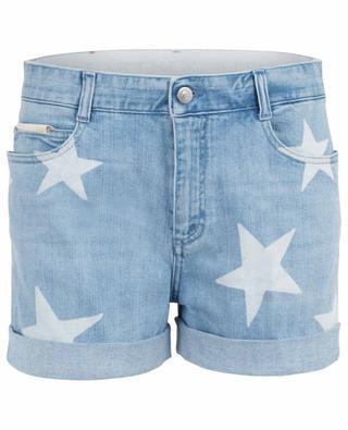 Short en jean avec imprimé étoiles STELLA MCCARTNEY