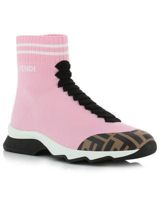 FF logo high-top sock sneakers FENDI