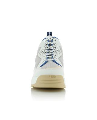 '90s style multi material sneakers FENDI