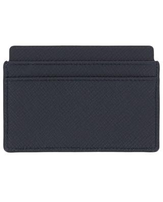 Porte-cartes en cuir texturé Panama SMYTHSON
