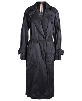 Water-repellent trench coat with elasticated belt MARC CAIN