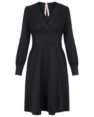 Kurzes ausgestelltes Kleid aus Satin MARC CAIN