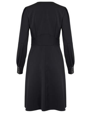 Short flared satin dress MARC CAIN