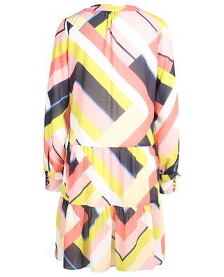 Printed crepe long-sleeved midi dress MARC CAIN