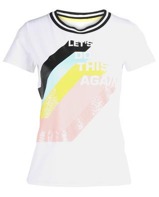 T-shirt en coton imprimé MARC CAIN
