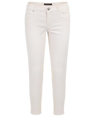Cropped skinny fit jeans with braid MARC CAIN