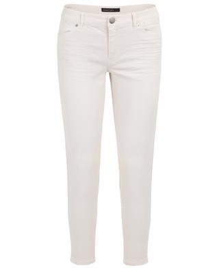 Verkürzte Skinny-Fit-Jeans mit Borte MARC CAIN