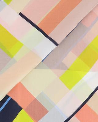 Écharpe en soie motif géometrique MARC CAIN