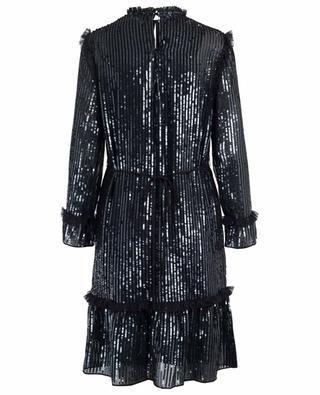Mittellanges Kleid aus Pailletten NEEDLE &THREAD