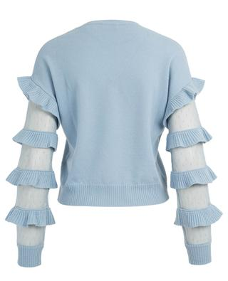 Pull avec manches en tulle RED VALENTINO
