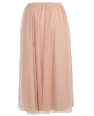 Point d'Esprit long tulle skirt RED VALENTINO