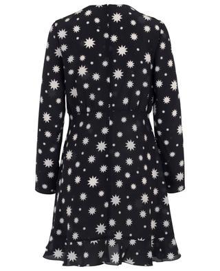 Gerüschtes Kleid mit Print Stars and Shadows RED VALENTINO