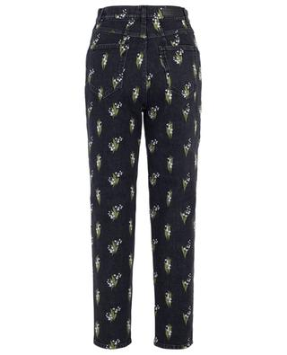 Muguets embroidered high-rise jeans SONIA RYKIEL