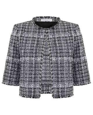 Paletot three-quarter-sleeve tweed jacket SONIA RYKIEL