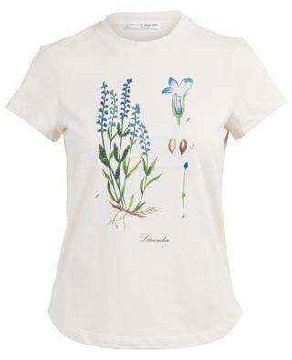 Lavender cotton T-shirt SONIA RYKIEL