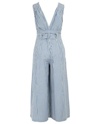 Classic striped sleeveless jumpsuit MES DEMOISELLES
