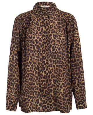 Feline leopard print shirt MES DEMOISELLES