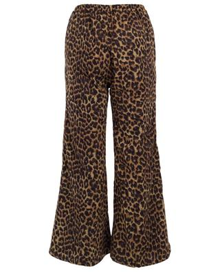 Fran flared leopard print trousers MES DEMOISELLES