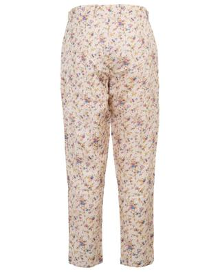 Gaius cropped floral trousers MES DEMOISELLES