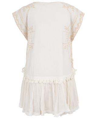 Greco embroidered sleeveless top MES DEMOISELLES