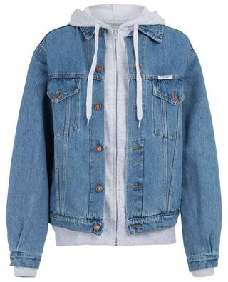 Jeansjacke im Lagenlook The Forte FORTE COUTURE