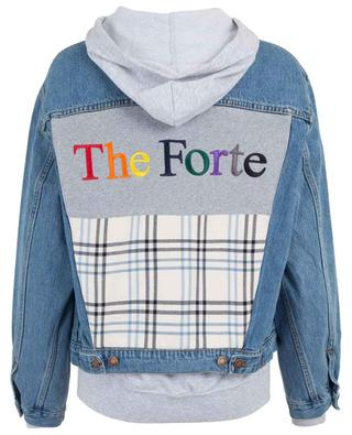 The Forte 2 in 1 style jeans jacket FORTE COUTURE