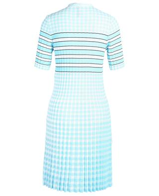 Pleated midi dress with necktie MARC CAIN