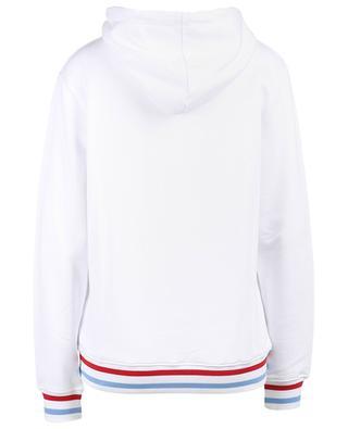 Kapuzensweatshirt aus Baumwolle und Modal mit Stickerei Courage QUANTUM COURAGE