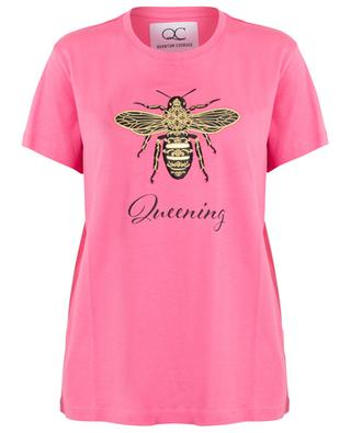 Queening bee slogan T-shirt QUANTUM COURAGE