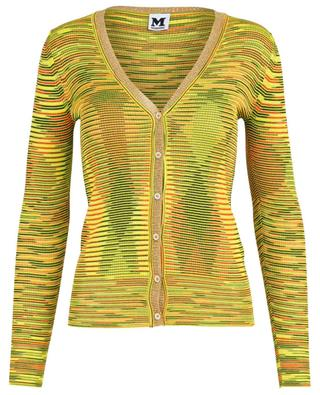 Striped skinny fit cardigan M MISSONI