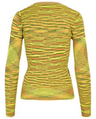 Striped skinny fit cardigan M MISSONI