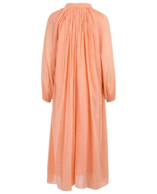 Langes Kleid aus Baumwoll- und Seidenmix FORTE FORTE