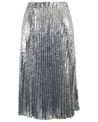 Pleated sequined midi skirt PHILOSOPHY