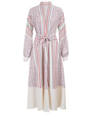 Scarf print embellished maxi dress PHILOSOPHY
