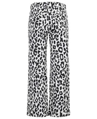 Straight leopard print jeans SEE BY CHLOE