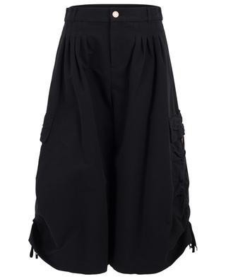 Cargo style cropped wide-leg trousers SEE BY CHLOE
