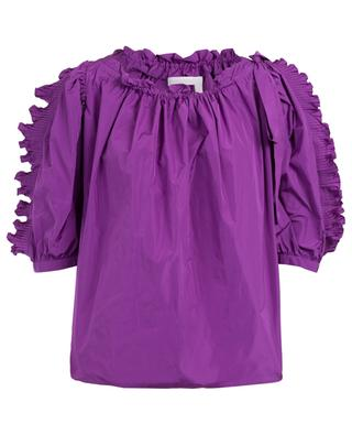 Taffetas frilled blouse SEE BY CHLOE