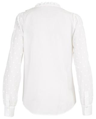 Cotton shirt with embroidered polka dot print SEE BY CHLOE