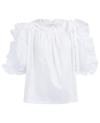 Ruffled blouse with puff sleeves SEE BY CHLOE